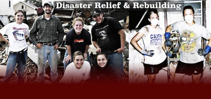 Disaster Relief & Rebuilding